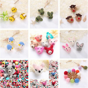 1pc Hand Craft Animals Wool Felting Needle DIY Decor Brooch Fashion Jewelry Hat