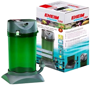 EHEIM Classic External Canister Filter with Media 40 US Gal Spray Bar Inlet Pipe