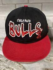 Chicago Bulls Youth Snapback Hat Black New Era 9FIFTY NBA Basketball