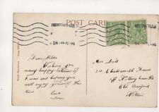 Miss Hilda Scott Chatsworth Avenue Nottingham Road Old Basford 1918 671b