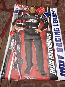 Fathead Large Wall Graphic Helio Castroneves Indy Racing League
