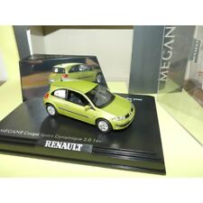 RENAULT MEGANE II Phase 1  Sport Dynamique 2.0 3 Portes Vert  Citron 2003 NOREV