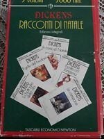 charles dickens racconti di natale 5 volumi newton 1993 prima edizione