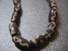 African Trade Bones Beads 35pc