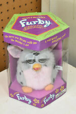 L334- Vintage 1998 furby 70-800, pink & grey, brand new in box