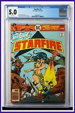 Starfire #2 CGC Graded 5.0 D.C. October-Nov 1976 Newsstand Edition Comic Book.