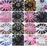3D Nail Art Rhinestones Glitters Studs Acrylic Tips Decoration Manicure Wheels