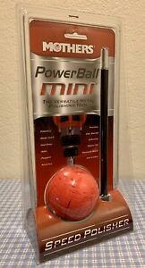 Brand New Mothers PowerBall Mini Speed Polisher #05141