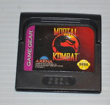 - MORTAL COMBAT Sega Game Gear Video Game  -