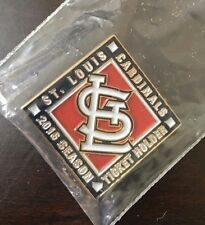 ST LOUIS CARDINALS 2016 SEASON TICKET HOLDER PIN - RARE, NOT IN STORES