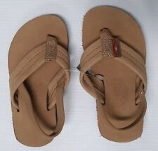 RAINBOW SANDALS Kids Premier Leather Sandals Sierra Brown - Kids Size 5/6 NWT