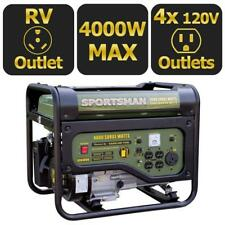 Power Generator Emergency Gas Generators For Home Portable Gasoline Powered 4KW