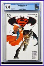 Superman Batman #80 CGC Graded 9.8 DC March 2011 White Pages Comic Book