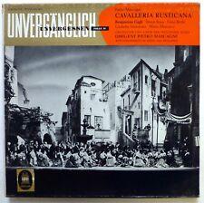 CAVALLERIA RUSTICANA Pietro Mascagni 2LP Classical MINT-  cla144