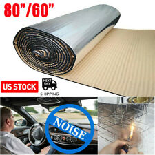 Automotive Car Insulation Thermal Heat Sound Deadener with Adhesive 80