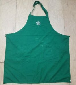 STARBUCKS Apron PRE-OWNED - Faded Milk Stains