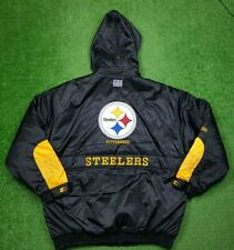 Vintage 90s Pittsburgh Steelers Starter Puffer Jacket XL Authentic MINT Pro Line
