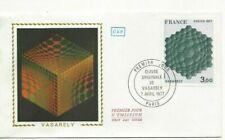 Envelope CEF 1er Jour France Vasarely 1977