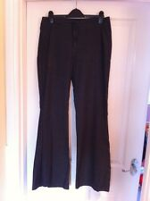 TopShop Denim Flared Trousers Ladies Womens - Size 12