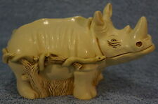 Harmony Kingdom Horn A' Plenty Rhinoceros Treasure Jests TJLRH
