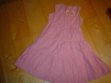 Vestido de tirantes de pana, rosa de poco CORAZONES TALLA 92-128