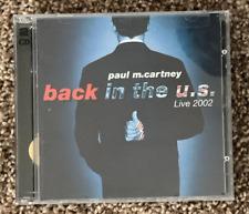 "Paul McCartney ""back in the U.S. Live 2002"" -  2 CD Set"