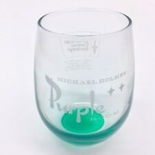 Michael Holmes Purple Room Stemless Wine Glass American Cancer Society