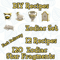 🌟 Zodiac Celeste 🌟 DIY + Item  Star Fragments for Animal Crossing New Horizons
