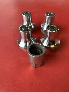 Genuine Wheel Locking Lug Nuts Set Short 12x1.5 For Toyota Lexus OEM