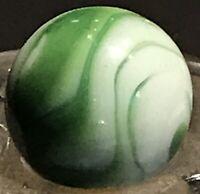"Vintage Christensen Agate Green Flame (11/16"" Diameter)"