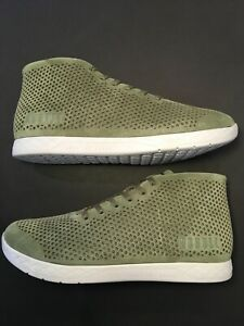NOBULL Moss Suede Mid Trainer Men's 13 / Womens 14.5 New