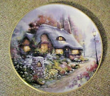 Franklin Mint Royal Doulton Cottage on Daisy Lane Plate by Andres Orpinas