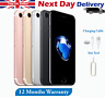 Apple iPhone 7 32GB 128GB 256GB Refurbished Unlocked 4G Smartphone All Colours