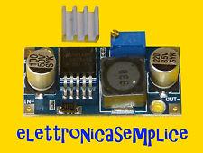 scheda modulo alimentazione step-down LM2596 3A con dissipatore arduino (B45)