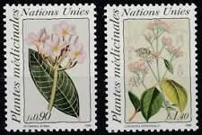 Nations Unies - Geneve postfris 1990 MNH 186-187 - Bloemen / Flowers