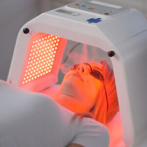 Profession LED Light Therapy with facial steamer function Deep Cleanser LED