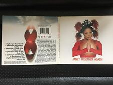 JANET JACKSON TOGETHER AGAIN 6 TRACK CD SINGLE IN NICE CARD COVER