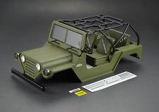 Killerbody 1/10 Crawler WARRIOR Karosserie Military Green RTU SCX10 KB48446