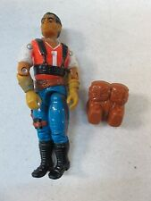 1987 GI Joe Red Dog with backpack
