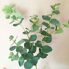 Artificiel Spray Eucalyptus. fleurs de soie réaliste / tige de verdure-Large