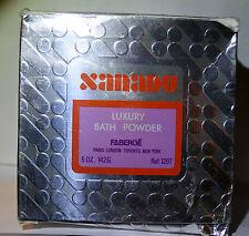 XANADU by FABERGE BATH BODY DUSTING POWDER FACTORY SEALED 5 OZ BNIB