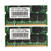 1GB 2GB DDR1 PC2700 333MHz PC2100 266Mhz PC3200 400mhz Laptop Memory RAM SODIMM
