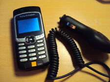 RETRO SONY ERICSSON T290I SIMPLE EASY  MOBILE PHONE UNLOCKED + CAR CHARGER