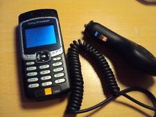 Retro Sony Ericsson T290I semplice facile Cellulare Sbloccato + caricabatteria da auto