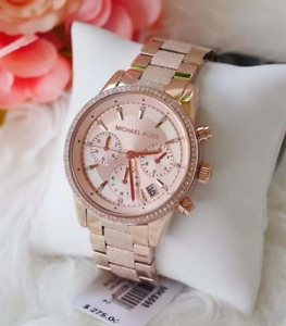 Michael Kors Women's Ritz Analog-Quartz Chronograph Watch MK6598