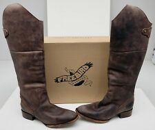 New Freebird by Steven FB-STABL Brown/Rustic Size 8 Leather Zipper Boots
