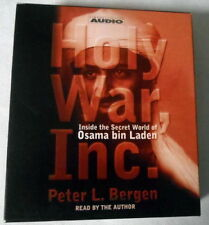 Holy War, Inc: Inside the Secret World of Osama bin Laden Peter Bergen 4 CD Set