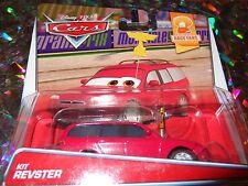 """DISNEY PIXAR CARS """"KIT REVSTER"""" Die-Cast Metal, Scale 1:55, NEW, Mattel"""