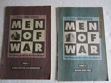 Chess-The Times guide de l'échiquier-Men of War-Pièces 1 To 6-1993