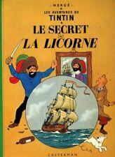 TINTIN LE SECRET DE LA LICORNE 11C2 - HERGé  1977 TBE++